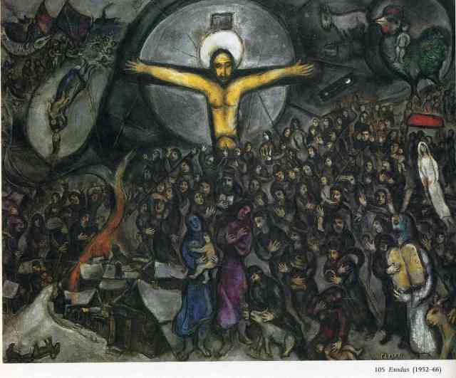 chagall exodus